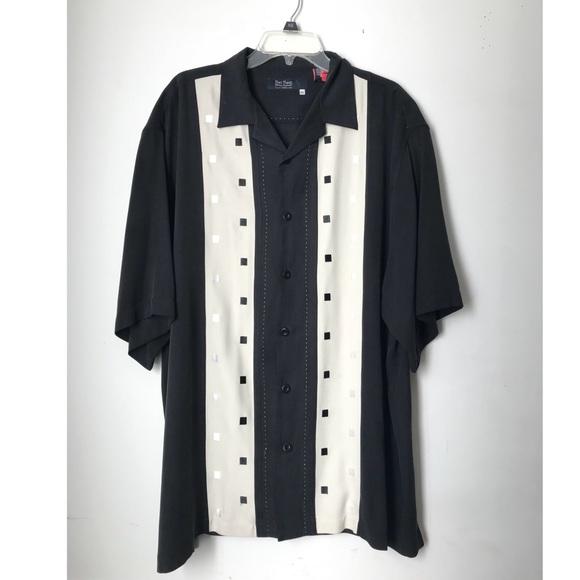 2ab8ddb33616a Nat Nast 100% Silk Embroidered Camp Shirt. M_5a9f1cadd39ca2cb94eb435b